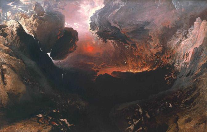 John Martin, La fine del mondo, 1851-3..