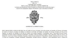 Carles IV, es proclamava rei fins i tot dels Algarves i les Canàries, i senyor de Vizcaia.
