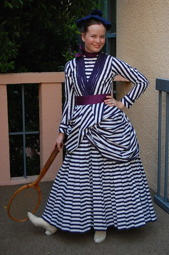 Tennis, Anyone?  The Victorian Outfits