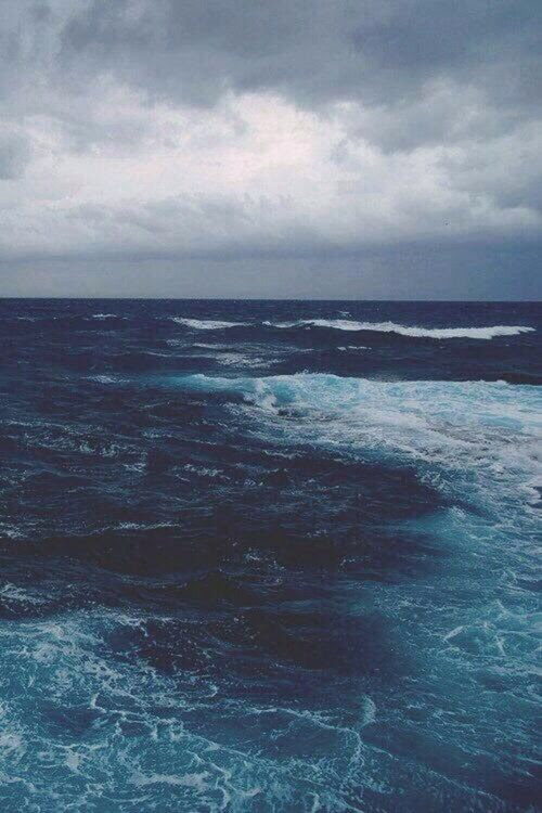 I love watching the waves. The ocean stretches as far as the eye could see. It has been here before my existence, and it will continue after my existence. It embodies strength and resistance. It will continue on despite what humanity does to it.