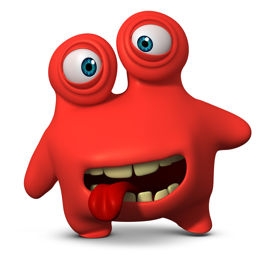 bigstock Red Monster 38111290