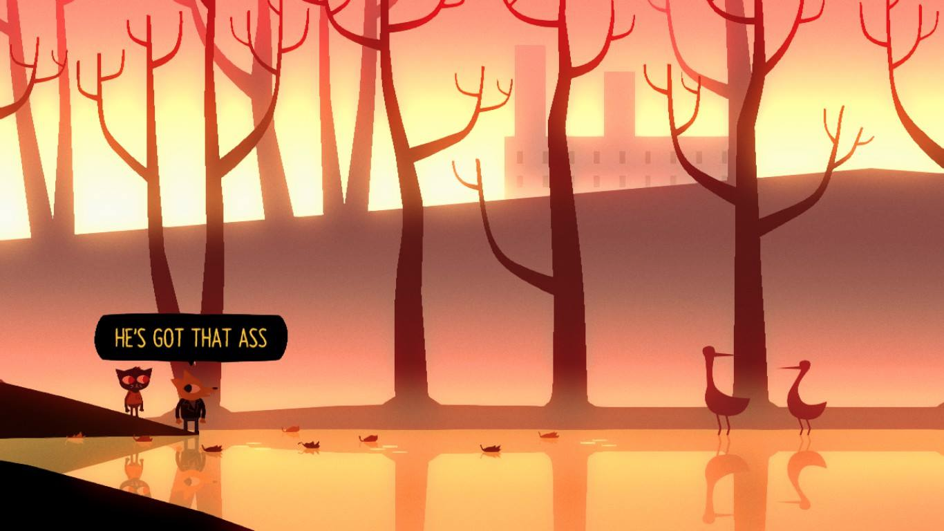 My Favourite Quote From The Game Nightinthewoods