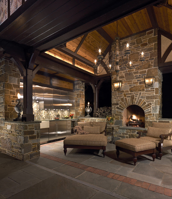 Outdoor Living Room - traditional - patio - philadelphia - by ...