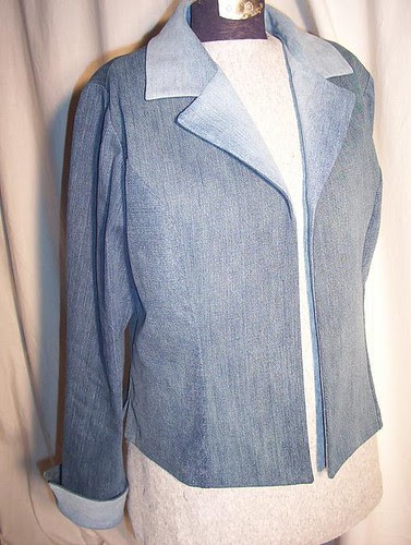 Recycled Denim Jacket B0458