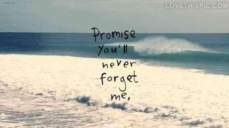 Promise You Will Never Forget Me Pictures Photos And Images For