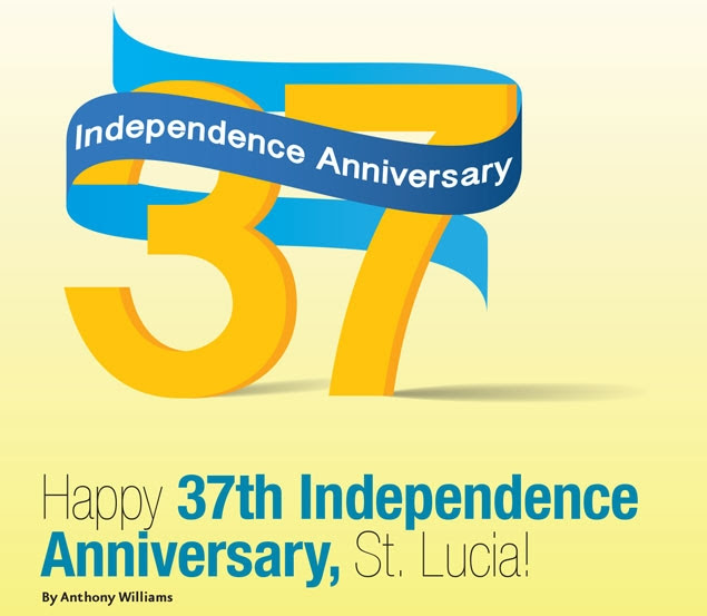 Happy 37th Independence Anniversary St Lucia Dazzle Magazine St
