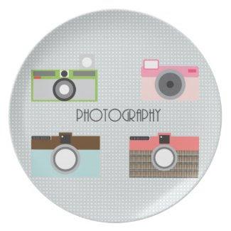 Sweet Camera Plate plate