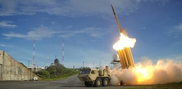 EUA começam a posicionar sistema antimísseis na Coreia do Sul