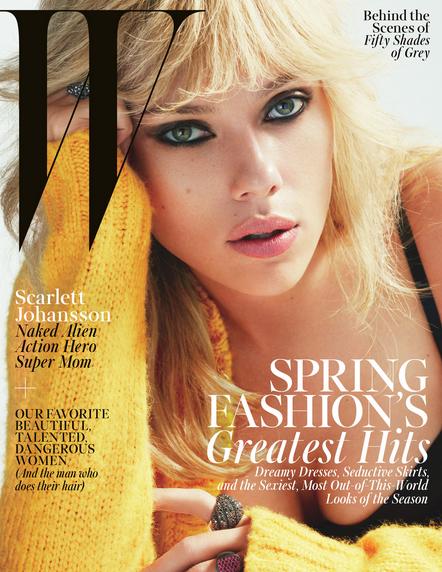 Scarlett Johanson en portada de W Magazine