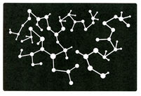 Molecules stencil - Click Image to Close