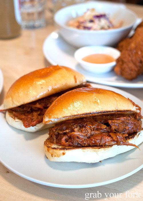 berkshire pork bun at pearl's diner, felixstowe, adelaide