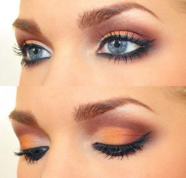Eye makeup looks for blue eyes book
