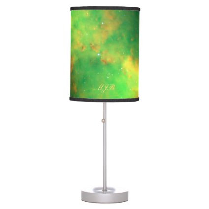 Monogram Dumbbell Nebula deep space picture Desk Lamp