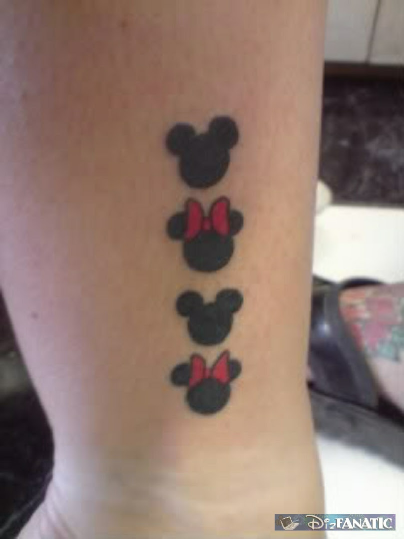 Mickey Ink O Hidden Mickey Minnie Tattoos