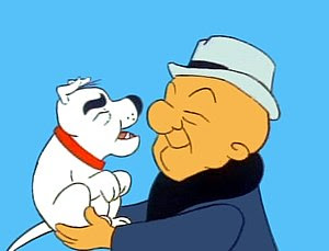 Mr. Magoo and McBarker from What's New Mr. Magoo?.