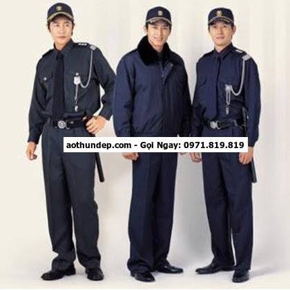 bán đồng phục bảo vệ may sẵn,