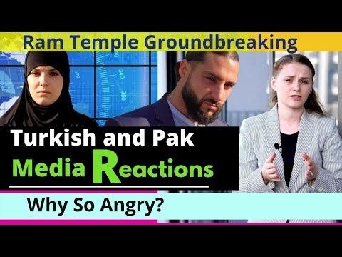 Ram Mandir Ayodhya - Turkish and Pakistani Media's Reactions