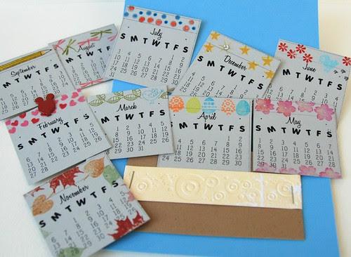 Calendar Card (inside the card)