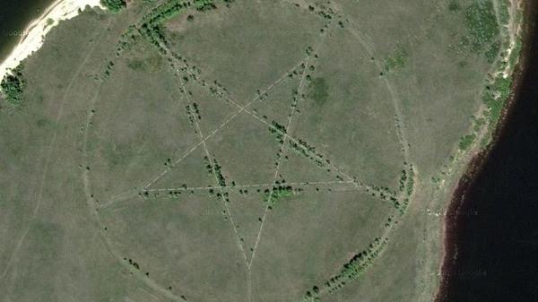 simbol setan