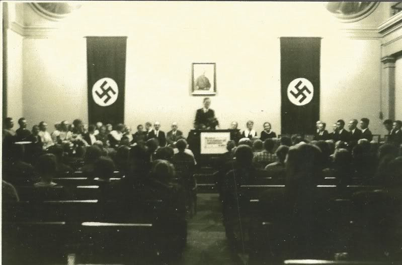 Al Glauser Missionary District Conference in Germany, 1936