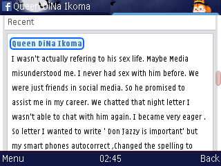 Don Jazzy Is Important Not Impotent-queen Dina Reacts To Rumour