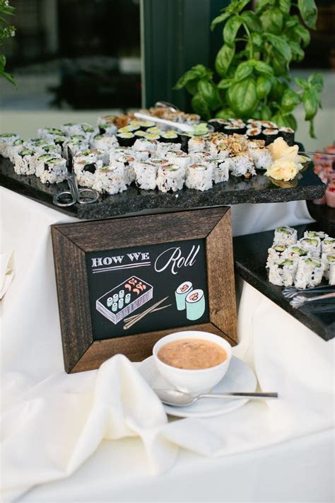 14 Coolest Food Stations For Your Wedding   Wedding foods