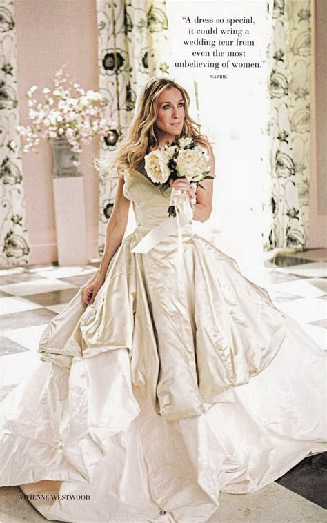Carrie Bradshaw's (SJP) wedding gown by Vivienne Westwood
