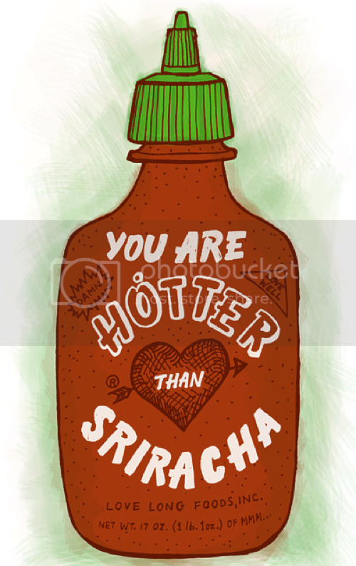LE LOVE BLOG LOVE STORY LOVE STORIES LOVE PHOTOS PHOTO LOVE QUOTE Sriracha Valentine by Leah Doguet SOCIETY 6