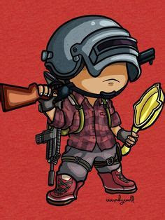 pubg chibi tattoo ideas cartoon wallpaper wallpaper