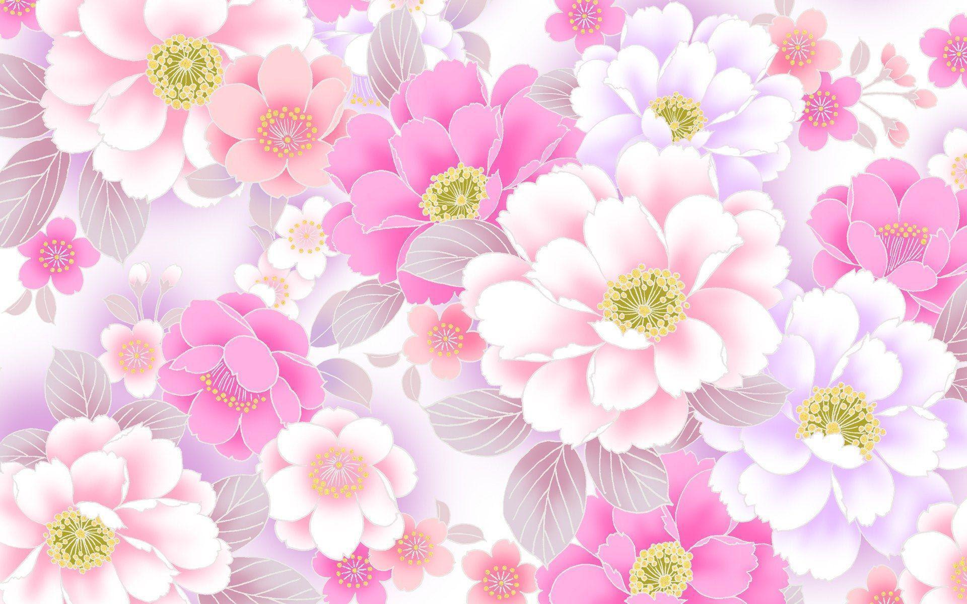 Pink Flower Wallpapers - Wallpaper Cave