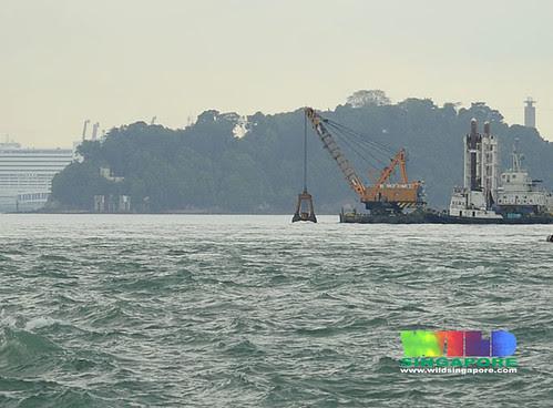Pasir Panjang Container Terminal expansion works