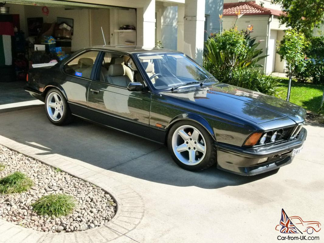 Bmw 1985 E24 M635 Black Coupe M6 M635csi Motorsport M Power