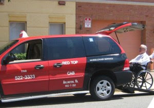 Wheelchair Accessible Taxis In Washington D C