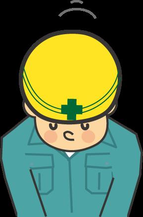 工事工事現場のイラスト無料イラスト