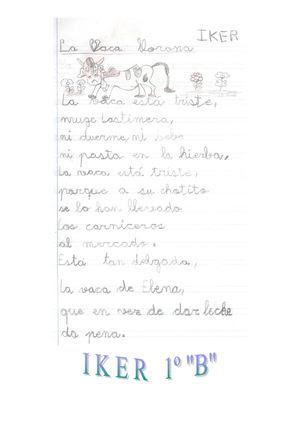 "1º ""B"" con ""Gloria Fuertes"" II Parte"