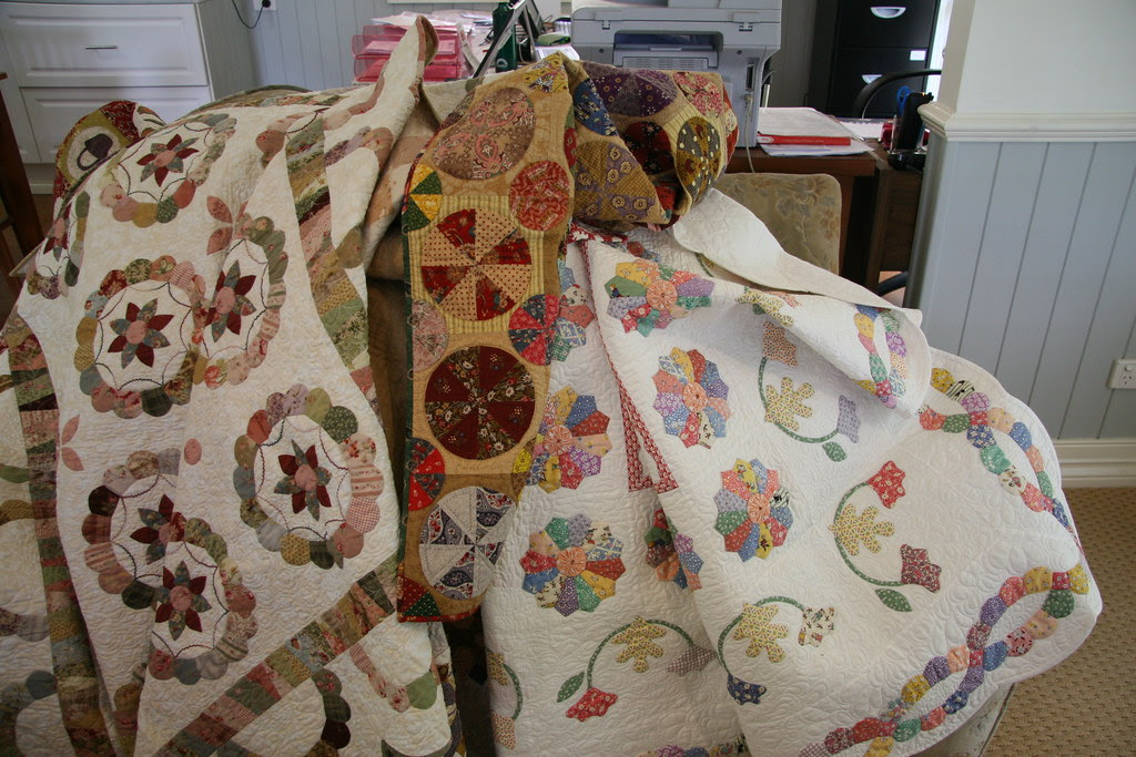 Patchwork with busy fingers