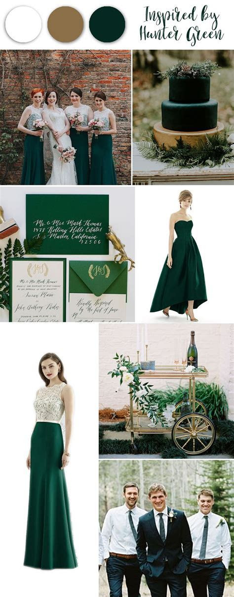 Top 25  best Hunter green weddings ideas on Pinterest
