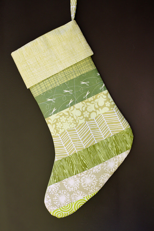 Striped Stocking Tutorial - In Color Order