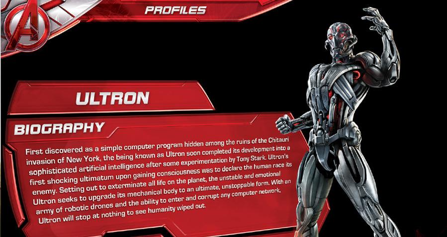 Origen de Ultron