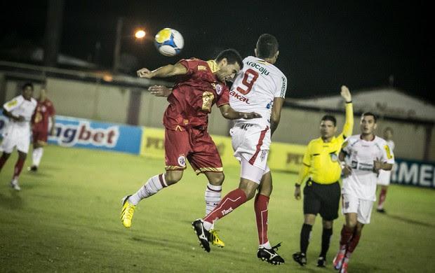 Sergipe empatou com o América-RN e foi eliminado (Foto: Filipe Araújo/FSF)