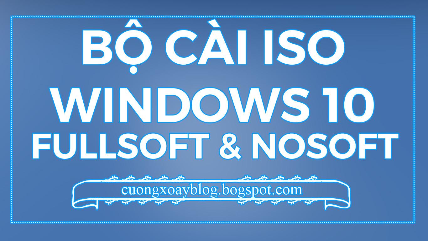 [BỘ CÀI IOS] Windows 10 Pro Version 1511 Build 10586.318 [Cập nhật tháng 5/2016]