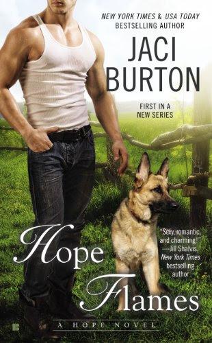 Hope Flames (A Hope Novel) by Jaci Burton