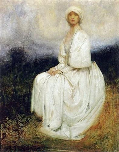 Arthur Hacker The Girl in White