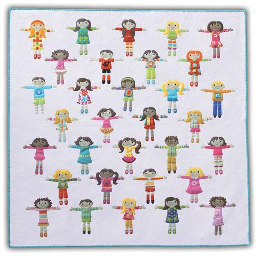 Worry Dolls - full quilt