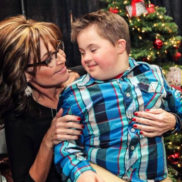 Sarah Palin, Down syndrome, Christmas, Good Tidings and Great Joy