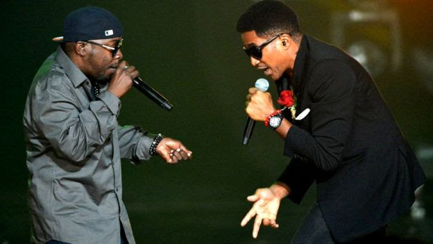 Phife Dawg and Q-Tip