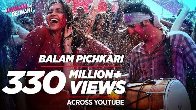 Balam Pichkari Lyrics - Shalmali Kholgade, Vishal Dadlani   Yeh Jawaani Hai Deewani