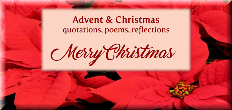 Advent And Christmas Inspiration Quotations Prayers Poems And