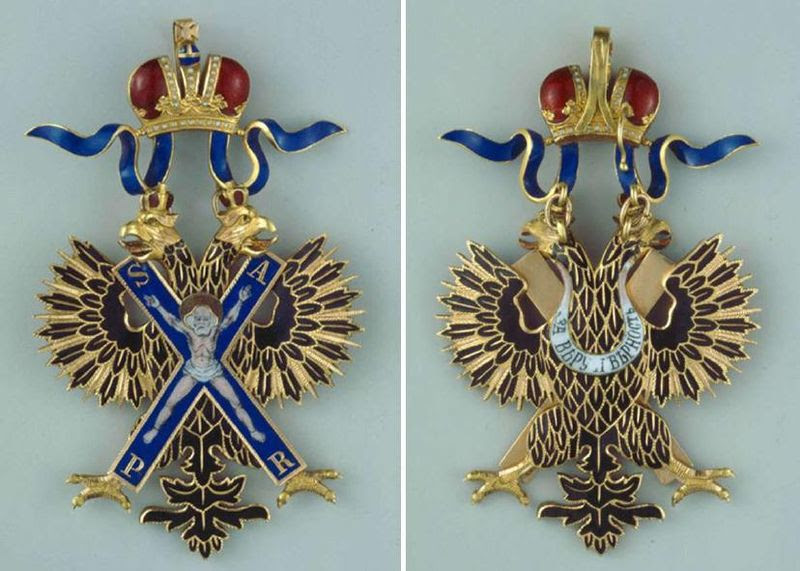 Archivo: Insignia de la Orden de San Andrés, tanto sides.jpg