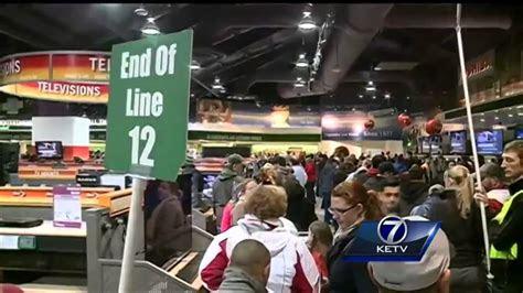 nebraska furniture mart sees large turnout  black